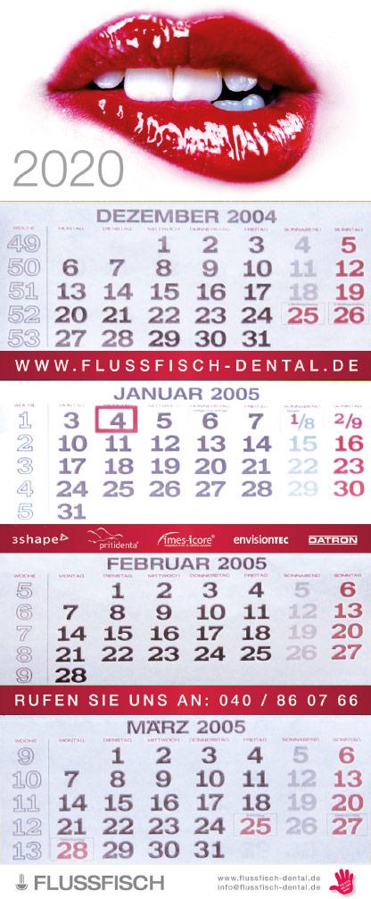 FLUSSFISCH Kalendar 2020